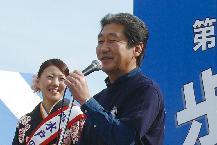 名誉会長:水戸徳川家十五代当主 徳川 斉正 様