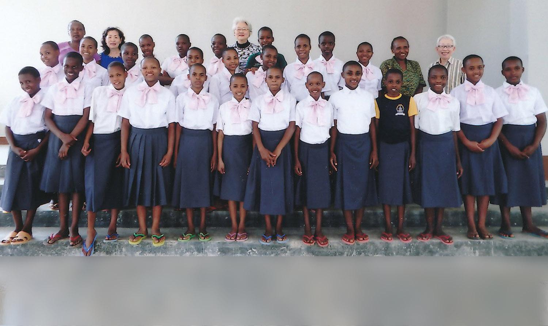 赤バラボランタリープロジェクト、さくら中学校